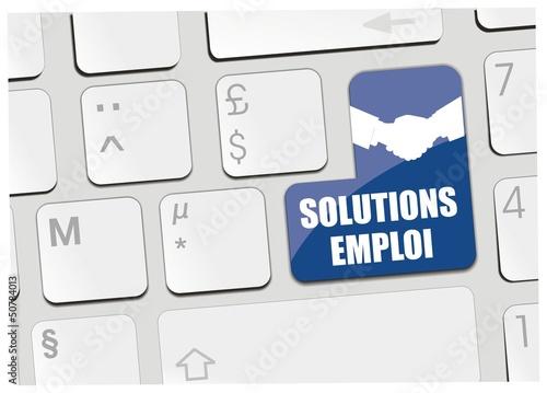 clavier solutions emploi