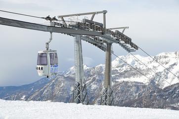 Италия, горнолыжный курорт Вальтурнанш