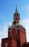 Moscow Kremlin. Spasskaya Tower.