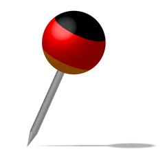 Deutschland Pin Nadel Icon Button