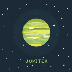 JUPITER space view