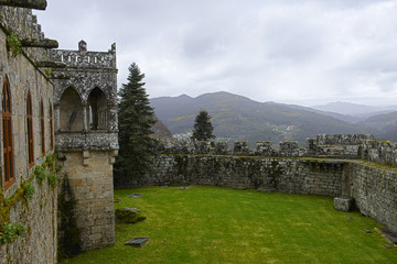 Soutomaior Castle, Pontevedra, Galicia, Spain