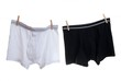 men boxer underwear isolated