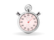 chronometre aiguille rose