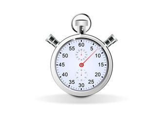 chronometre aiguille bleu