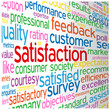 """SATISFACTION"" Tag Cloud (quality customer service guarantee)"