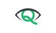 Concept oeil vert