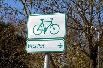 Pise Cyclable à La Rochelle