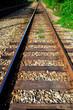 Gleis und Schweller