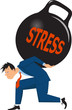 Businessman under stress