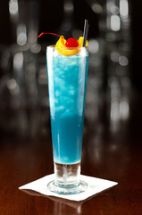 electric blue lemonade