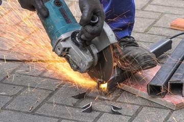 Flexen von Eisen, Handwerker