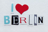 Fototapety i love berlin sign