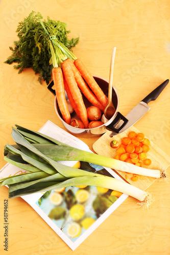 Gemüsezubereitung