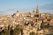 Toledo - Cathedral and old town in morning light