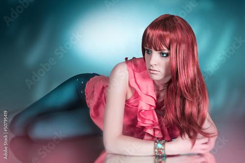 Pastellrot / haircolors 26_2
