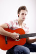 Gitarren Spieler