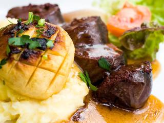 cuisine Boudin Noir on table
