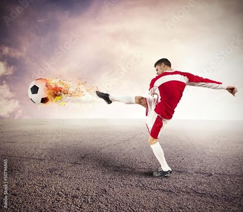 Football player power