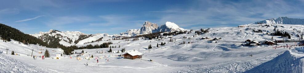 Veduta Alpe di Siusi