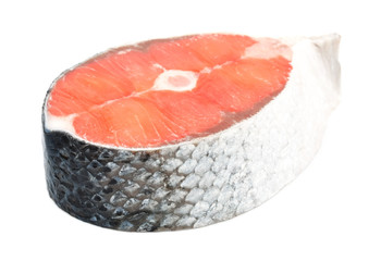Piece of a salmon