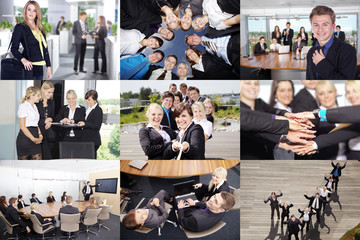 Business Collage extra groß