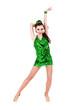 Full length of  sensual woman in short dress