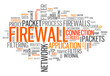 "Word Cloud ""Firewall"""