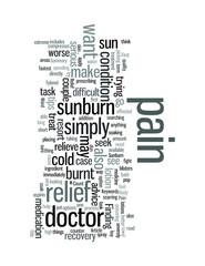 Sunburn Pain Relief