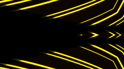 Animated abstract, futuristic lines digital background, HD