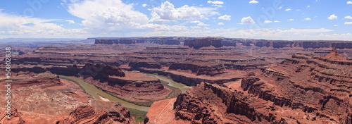 Panoramic view of Dead horse view in Utah