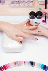 Nail gel salon