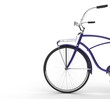 Purple Vintage Bicycle