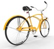 Yellow Vintage Bicycle