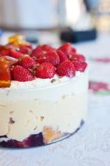 trifle, christmas dessert