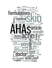 Acne Use AHAs Regularly To Stop Acne Formation