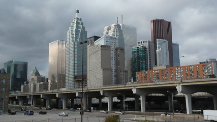 Toronto financial district.