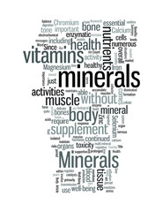 The Importance of Minerals for Health and Well Being
