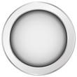 Button Weiß, rund, Struktur
