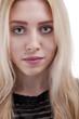 close up portrait of beautiful caucasian girl
