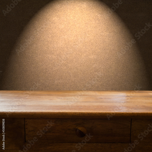 Wooden Table Backdrop