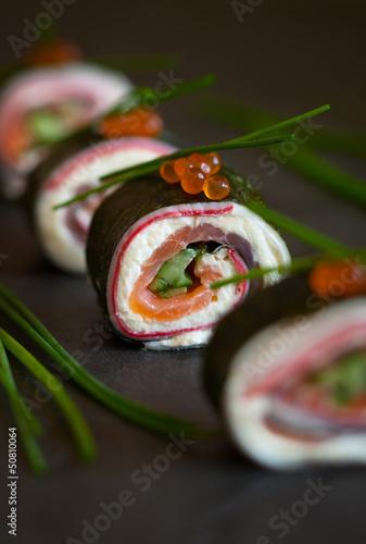 No-Rice Sushi Roll