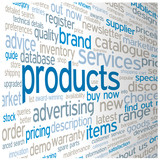 """PRODUCTS"" Tag Cloud (catalogue search prices services info faq)"