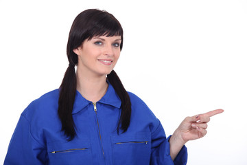 female mechanist
