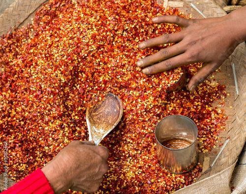 Red Chili pepper powder