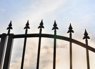 pointes d'un portail