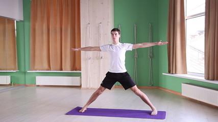 young man doing yoga  2