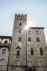 Lappoli Palace, medieval Palace in Arezzo, Italy