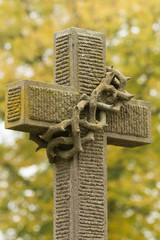 Grabstein-Kreuz