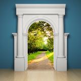 Abstract portal - 50815484